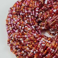 "Czech Glass Seed Beads Mixture Size 10/0 "" AZALEA "" 1 Hank"