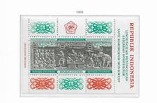 1968 MNH Indonesia Michel block 10