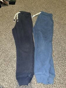 Next Boys Blue/navy Joggers Age 6-7 Years