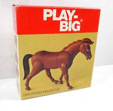 PLAY BIG 5761 - 20 : Pferd Majestus Figur 70er > NUR VERPACKUNG < (K65)