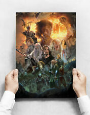The Lord of the Rings Limited Edition Print Art Posters