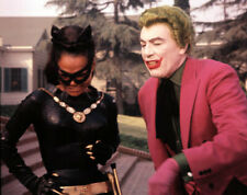 Batman UNSIGNED photograph - N739 - Cesar Romero and Eartha Kitt - NEW IMAGE!!!