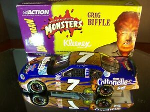 Greg Biffle #7 Kleenex Cottonelle Monsters The Wolf Man 2003 Chevrolet Monte Car