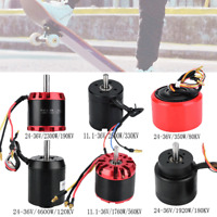 brushless motor sensorless 11.1-36V/80-560KV for electric scooter e-skateboard