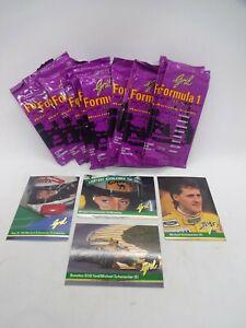 1992 Grid formula 1 tradings cards sealed packs per unit schumacher rookie card