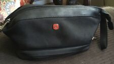Black SWISS GEAR by WENGER Toiletry COSMETIC Hygiene ORGANIZER Mesh Travel Bag