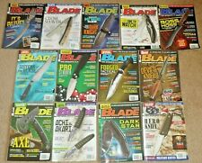 13 Blade Magazines Knives Complete Year 2015 Vol. 42 Issue 1-13