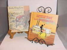 1970 Little Dog Lost & 1973 Little Toot on the Mississippi Children's books