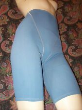 Vintage Blue Smooth High Waist Long Leg Panty Panties Girdle Slimmer