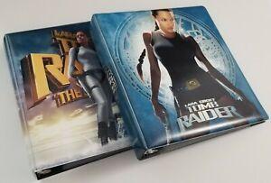 Tomb Raider Lara Croft Angelina Jolie Inkworks Movie Binders, Base Sets + Bonus