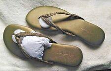 Eddie Bauer - Bronze - Size 7.5 - - Sandals Flat (0 to 1/2 in.), Leather