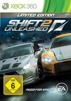 Need For Speed: Shift 2 - Unleashed Limited Edition (Microsoft Xbox 360 DVD) OVP