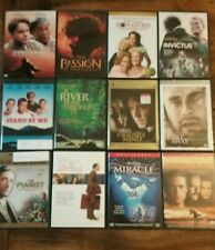 Lot of 12 Dvds: The Pianist, The Terminal, Miracle, Invictus & Cast Away & More!