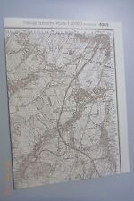 Topografische Karte Messtischblatt Nr.4953 Ebersbach Beiersdorf Neusalza /19