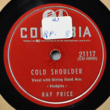 Ray Price Cold Shoulder Columbia 78 21117 NM You Weren't Ashamed to Kiss Me