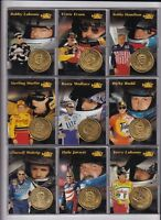 ^1997 Pinnacle COIN & CARD #7 Rusty Wallace BV$5.50! You get COIN & CARD
