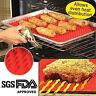 10 Pcs Pyramid Pan Non Stick Fat Reducing Silicone  Mat Oven Baking Tray Sheets