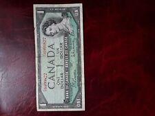 Canadá 1954 nota de un dólar