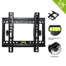 Slim Tilt TV Bracket Wall Mount VESA LED LCD Flat Plasma 14 15 17 26 30 32 Inch