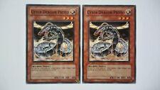 Lot 2 Cartes Yu Gi Oh Cyber Dragon Proto SDMM-FR014