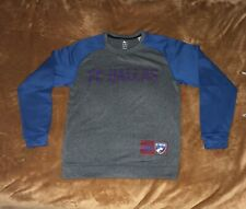 Adidas FC Dallas Polyester Sweater Medium Blue Solve Colorway Climawarm