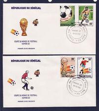 ASg/ Sénégal  enveloppe  1er jour  coupe du monde de Football    1982