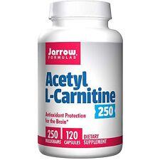 Jarrow formule, Acetil L-Carnitina 250, 250 MG, 120 Capsule