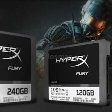 "Kingston HyperX FURY 120GB 2.5"" SATA III Internal SSD Solid State Drive E2C7"