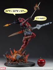 Marvel Deadpool Heat-Seek Premium Format Figure Sideshow 300511