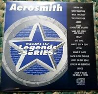 LEGENDS KARAOKE CDG AEROSMITH #167 ROCK OLDIES 17 SONGS CD+G DREAM ON,RAG DOLL
