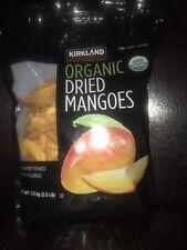 Kirland Organic Dried Mangoes