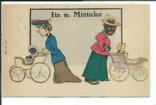 New Listing Postcard Black Americana Its a Mistake