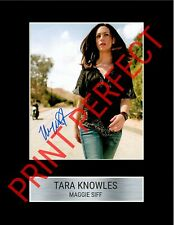 SONS OF ANARCHY TARA MAGGIE SIFF A4 PRE AUTOGRAPHED PRINT SOA