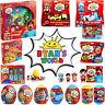 Ryan's World - licensed Ryans World toys - Pop n Race, Mystery Eggs, Figures etc