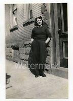 1944 photo Boston Elevated Railway Employee  Lady 1940s Boston MA #2