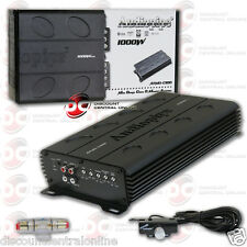 AUDIOPIPE CAR AUDIO 1-CHANNEL AMPLIFIER CLASS D MONOBLOCK 1000 WATTS