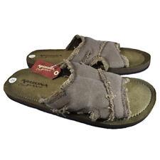 4cbdb83d9514 Arizona Mens Sandals Slip On Comfortable TAN NEW S M L XL