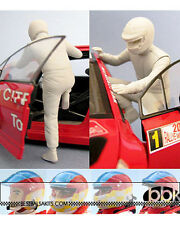 1/24 2003-2007 RALLY DRIVER FIGURE fo TAMIYA BELKITS REVELL HELLER CITROEN XSARA
