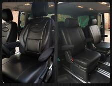 4 Einzelsitze Vorne /& Mitte VW T5 T6 Multivan Maß Schonbezüge Sitzbezüge  909