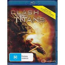 BLU-RAY CLASH OF THE TITANS Action + Bonus Features NEW NOT SEALED REGION B [BN]