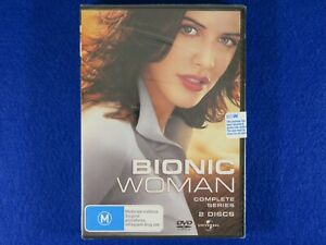 Bionic Woman Complete Series - Brand New Still Sealed - DVD - Free Postage !!
