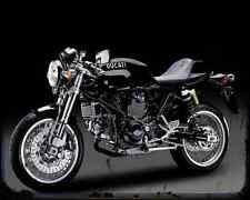 DUCATI Sport 1000 Monoposto 2 A4 Foto Impresión moto antigua añejada De