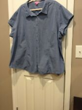Women��s Plus Size 3X Or 30/32 Blouse By Woman Within