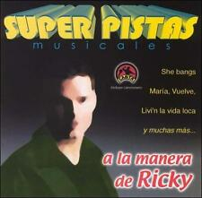 Grupo Musical De Exitos : Pistas: Ricky CD