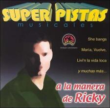 Grupo Musical De Exitos : Pistas: Ricky CD***NEW***