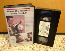 BETTER ONE-PIECE HEAD MOLDS FROM LIFE sculpting VHS modeling pottery video 1992