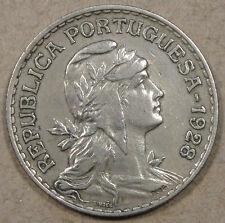 Portugal 1928 Escudo Better Circulated Grade Coin