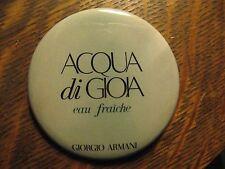 Giorgio Armani Acqua di Gioia Eau Fraiche Duft Logo Lippenstift Tasche Spiegel