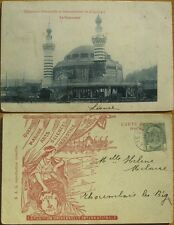 1905 Postcard - Exosition Universelle de Liege, Belgium