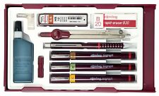 Rotring Isograph 3 Pen Master Set - 0.2/0.3/0.50mm